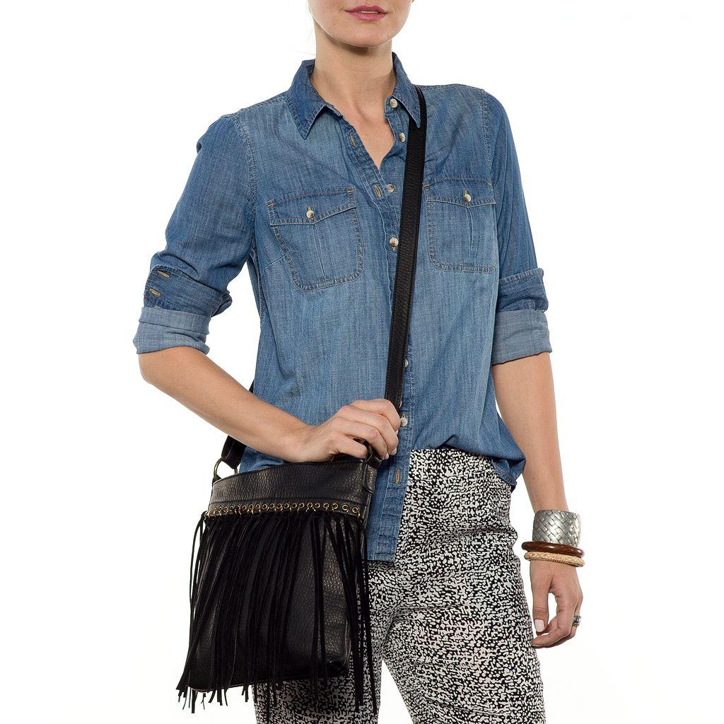 SONOMA Goods for Life™ Katrine Fringed Crossbody Bag