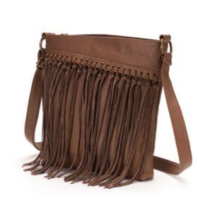 SONOMA Goods for Life? Katrine Fringed Crossbody Bag
