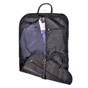 Royce Leather Faux-Leather Garment Cover
