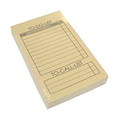 Royce Leather Note Jotter Replacement Notepads