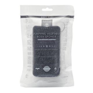 Earth Therapeutics Purifying Charcoal Vegetable Body Sponge