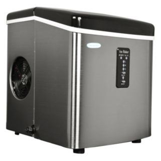 NewAir Portable Stainless Steel Ice Maker