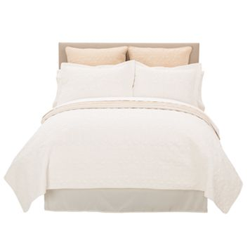 Marquis by Waterford Allegra Reversible Quilt - Queen