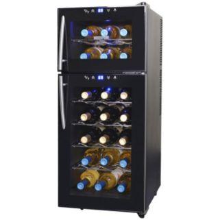 NewAir Dual-Zone 21-Bottle Wine Refrigerator