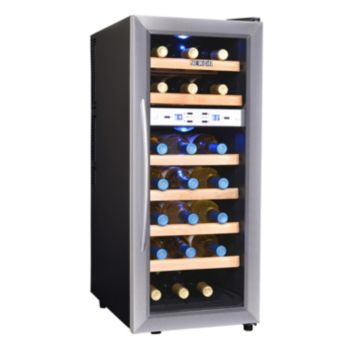 NewAir Dual-Zone 21-Bottle Wine Refrigerator