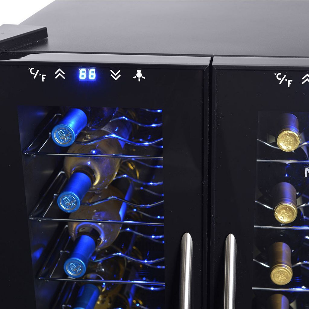 NewAir Dual Zone Thermoelectric Wine Cooler