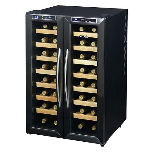 NewAir 32-Bottle Dual Zone Wine Cooler