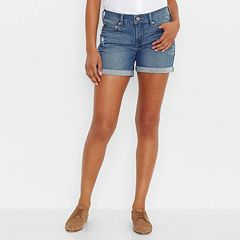 Levi's Cuffed Jean Shorts - Women's