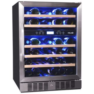NewAir Dual-Zone 46-Bottle Wine Refrigerator
