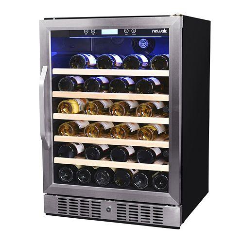 NewAir 52-Bottle Compressor Wine Cooler