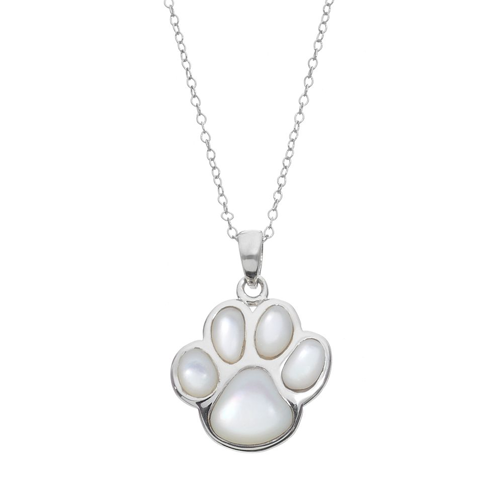 print heart paws products my mostly in paw always necklace