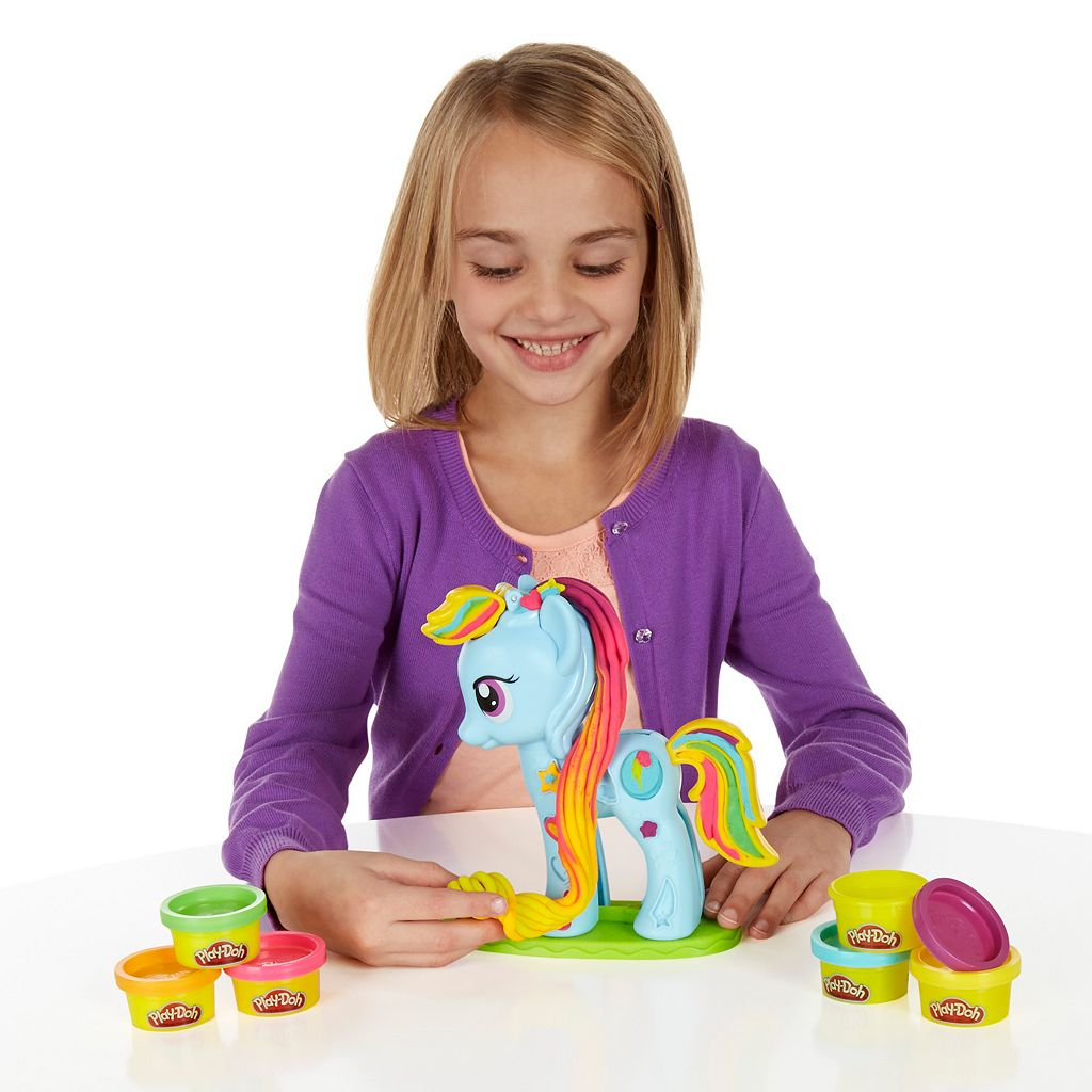 Play-Doh My Little Pony Rainbow Dash Style Salon Set By Hasbro