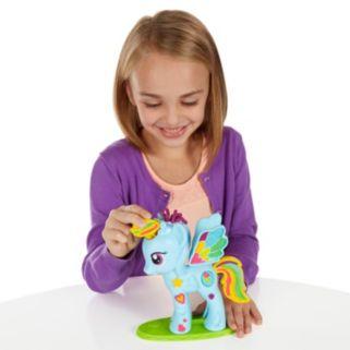 Play-Doh My Little Pony Rainbow Dash Style Salon Set By Hasbro