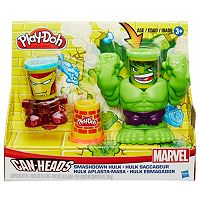 Play-Doh Smashdown Hulk & Marvel Can-Heads Set by Hasbro