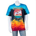 Men's Led Zeppelin Icarus Tie-Dye Tee