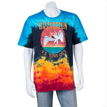 Men's Led Zeppelin Icarus Tie-Dye Tee