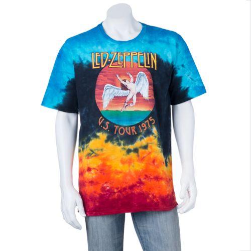 Led Zeppelin Icarus Shirt Led Zeppelin Icarus Tie-dye