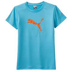 Girls 4-6x PUMA Core Tech Logo Tee