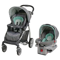 Graco Stylus Travel System with SnugRide Click Connect 30 Infant Car Seat by