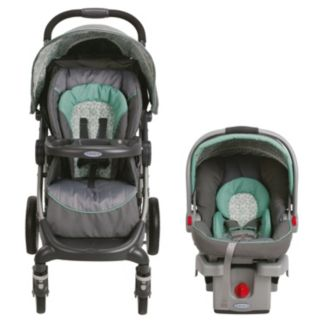 Graco Stylus Travel System with SnugRide Click Connect 30 Infant Car Seat