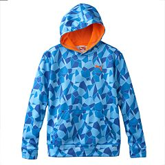 Boys 4-7 PUMA Geo Performance Fleece Hoodie