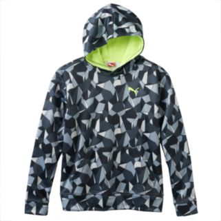 Boys 4-7 PUMA Geo Performance Fleece Hoodie