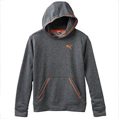 Boys 4-7 PUMA Heathered Performance Hoodie