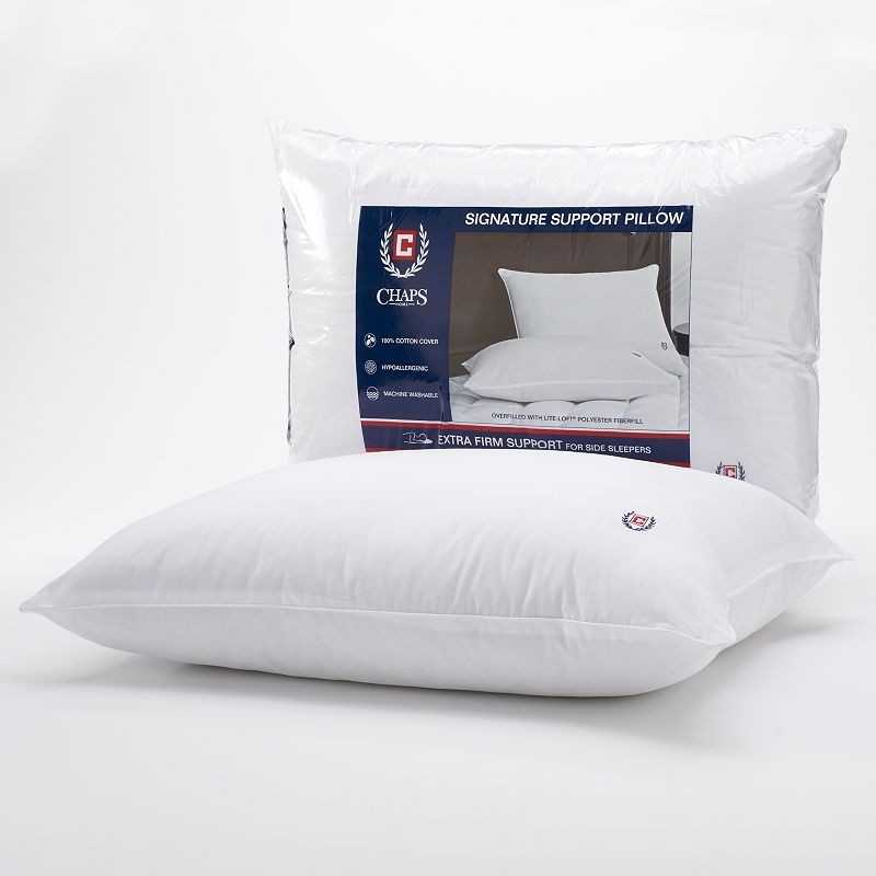Chaps Signature Extra Firm Density Pillow - Standard / Queen