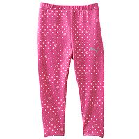 Toddler Girl PUMA Forever Faster Polka Dot Leggings
