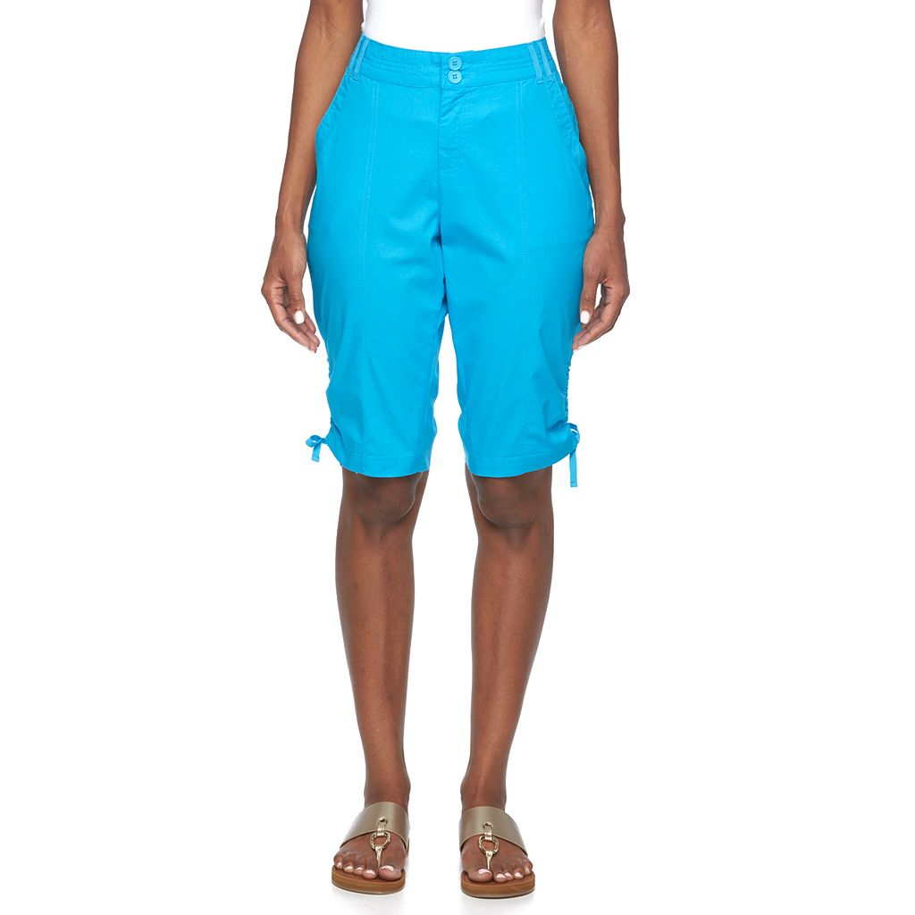 Caribbean Joe Twill Skimmer Pants - Women's