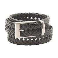 Dockers® Braided Black Belt - Men