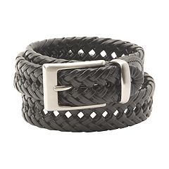 Dockers® Braided Black Belt - Men