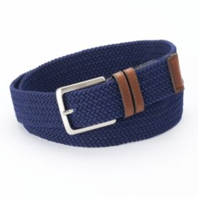 Dockers® Braided Stretch Navy Belt - Men