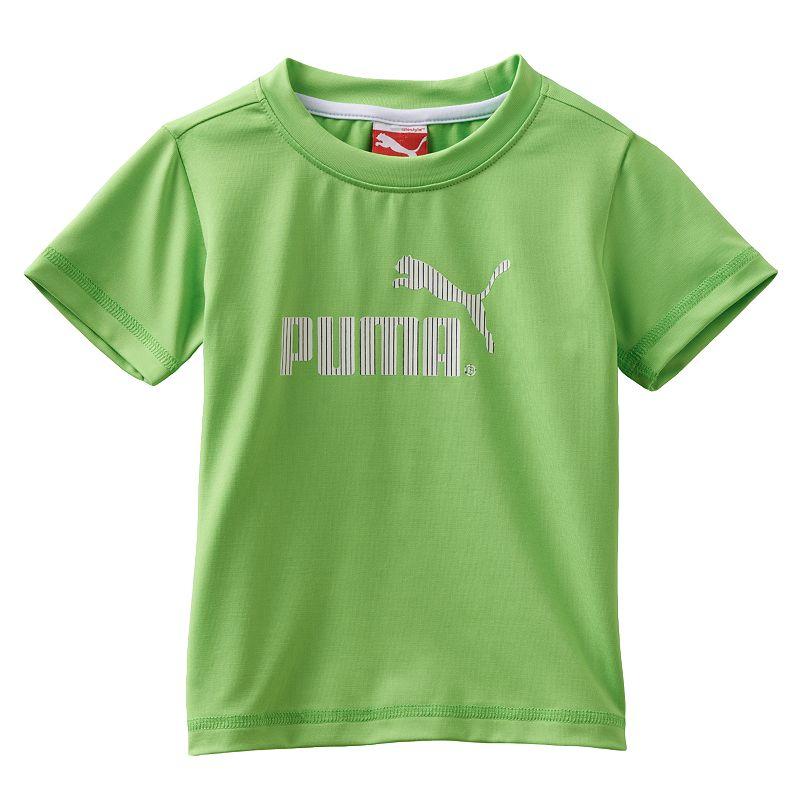 Yellow Puma Logo Puma Active Logo Tee Toddler