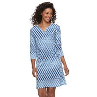 Caribbean Joe Tropical Shirtdress - Women's