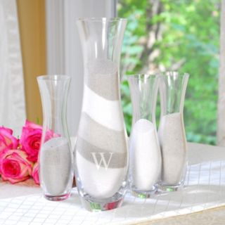 Cathy's Concepts 4-piece Personalized Sand Ceremony Unity Set