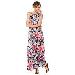 Women's Jennifer Lopez Silky Maxi Dress
