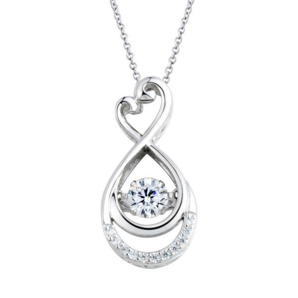 floating diamonluxe 58 carat tw simulated diamond