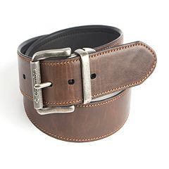 Men's Columbia Roller Logo Buckle Reversible Belt