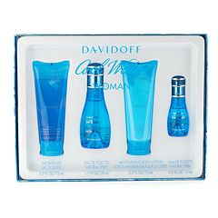 Davidoff Cool Water 4 pc Women's Perfume Gift Set