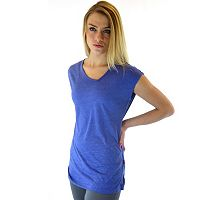 Ryka Asymmetrical Slubbed Yoga Tunic - Women's