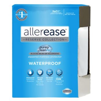 Allerease Waterproof Allergy Protection Mattress Protector