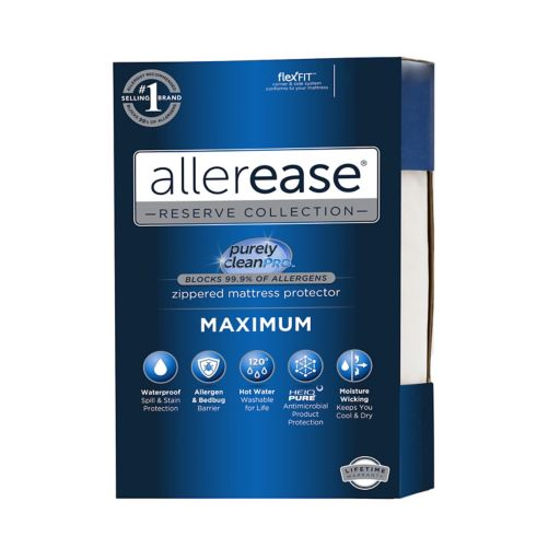Allerease Maximum Bedbug and Allergy Protection Mattress Protector