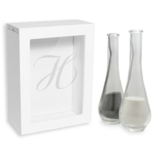 Cathy's Concepts 3-piece Personalized Sand Ceremony Shadowbox Set