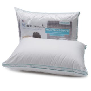 Sealy Posturepedic 300-Thread Count Maintains Shape Firm Pillow