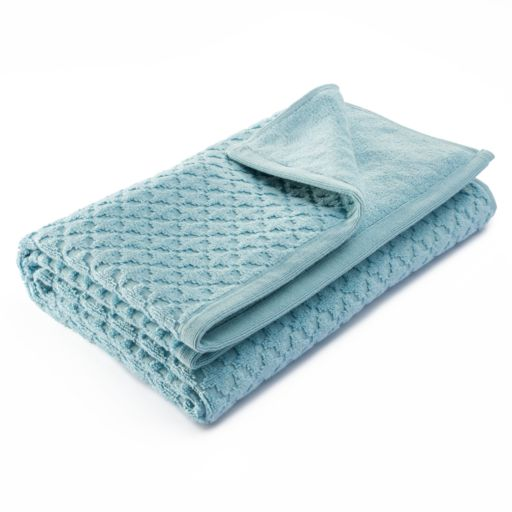 Simply Vera Vera Wang Trellis Texture Bath Towel