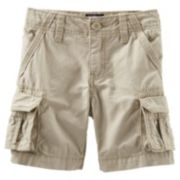 OshKosh B'gosh® Canvas Cargo Shorts - Toddler Boy