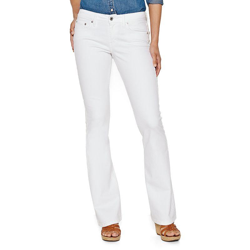 Levi's 518 Superlow White Bootcut Jeans - Juniors