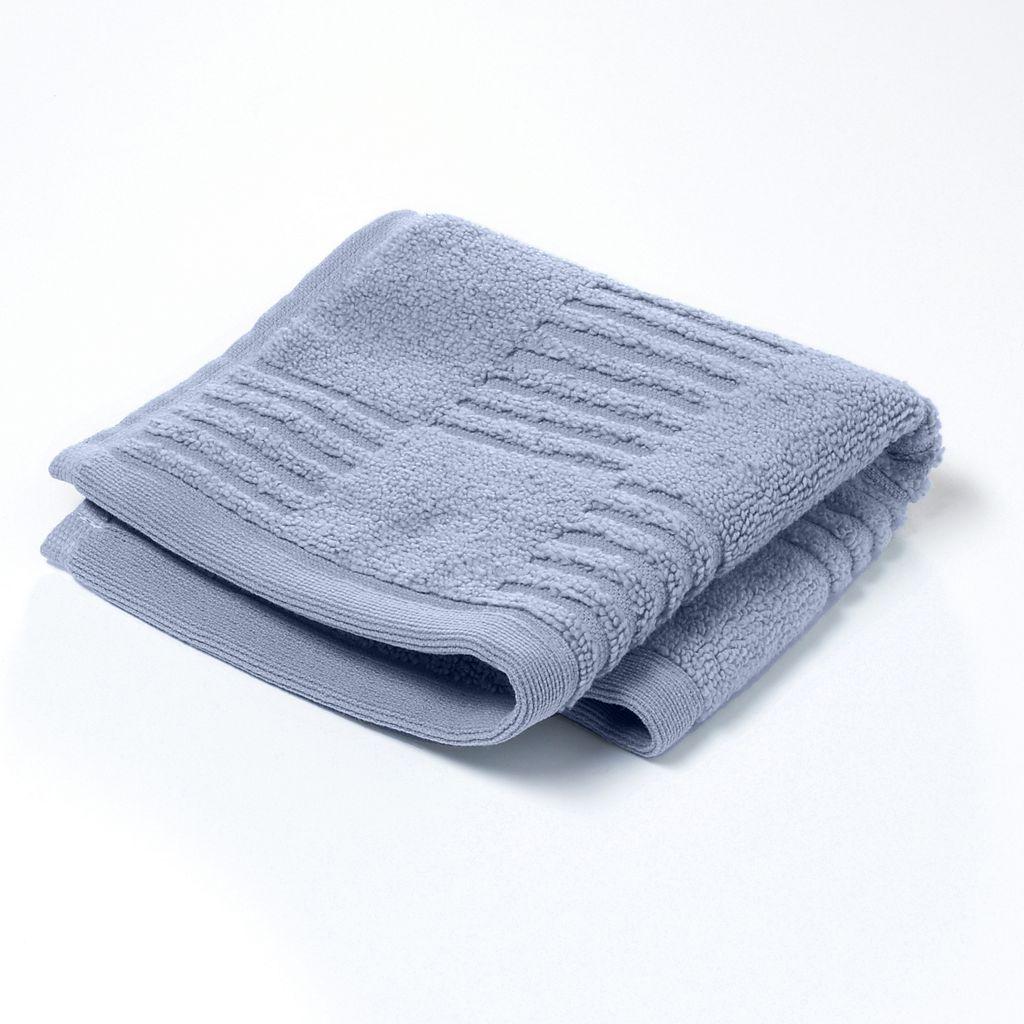 Simply Vera Vera Wang Tile Texture Washcloth
