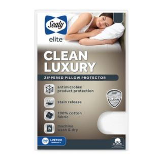 Sealy Posturepedic Luxury Stain-Release Pillow Protector